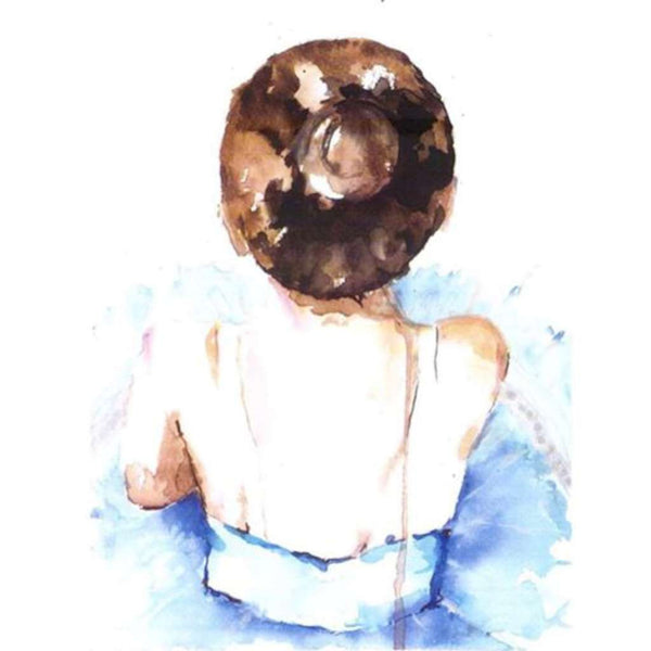 Ballerina by Grotti Lotti. Australian Art Prints. Green Door Decor.  www.greendoordecor.com.au