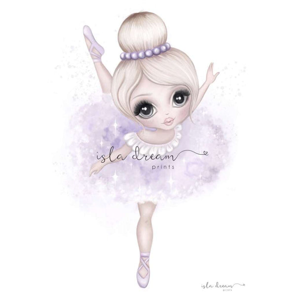 Bella The Ballerina (Lilac)