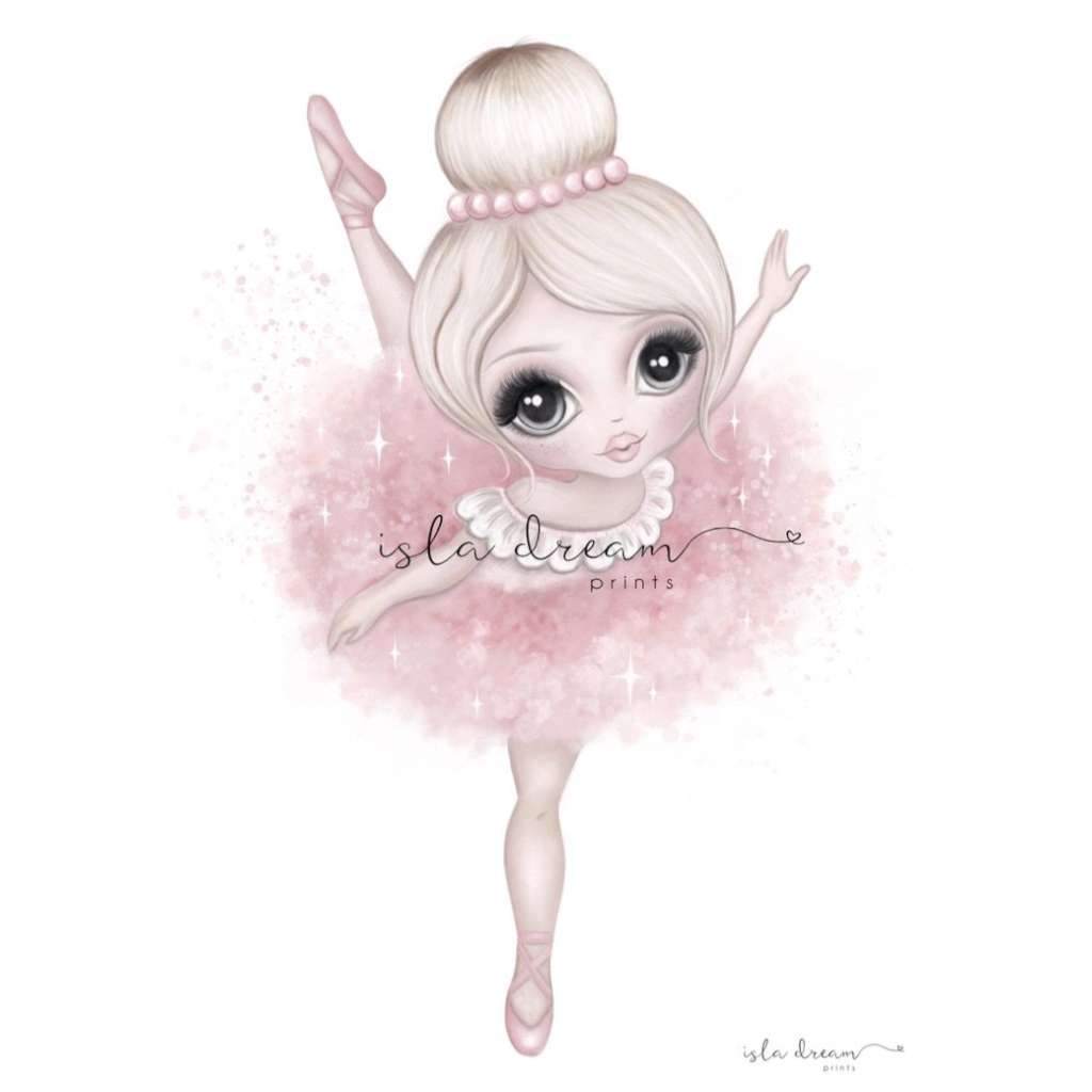 Bella The Ballerina (Pink)