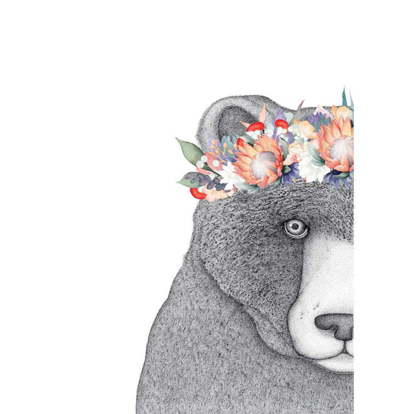 Beryl the Bear with Protea Crown (Limited Edition)