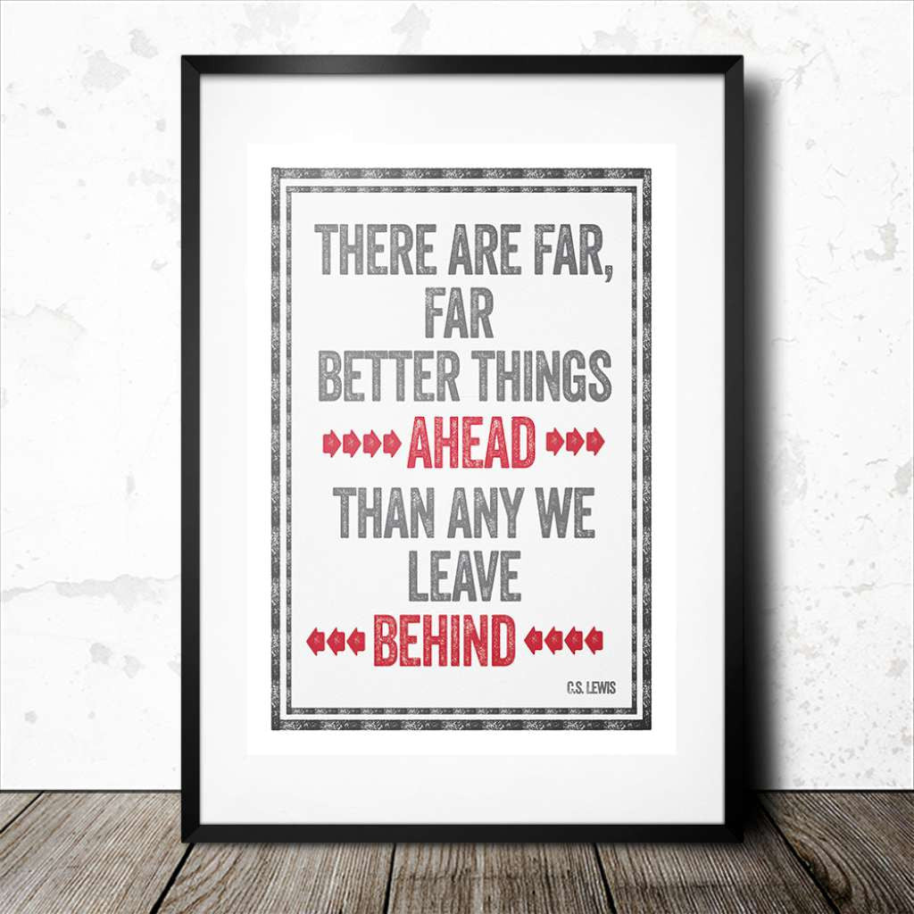 Better Things Ahead, by Black & Type. Australian Art Prints. Green Door Decor.  www.greendoordecor.com.au