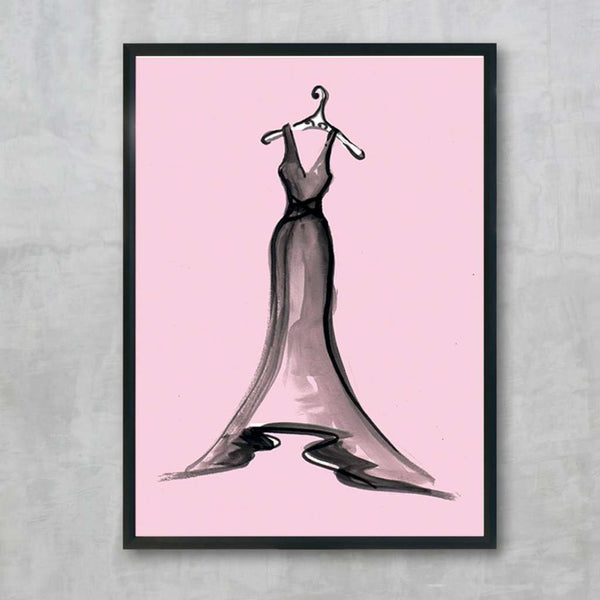 Black Dress Series 3 Pink