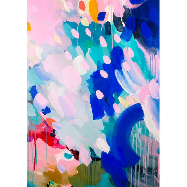 Blue 1 print, by Shannon O'Neill. Australian Art Prints. Green Door Decor. www.greendoordecor.com.au