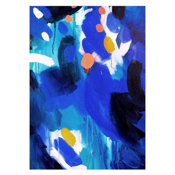 Blue 3 print, by Shannon O'Neill. Australian Art Prints. Green Door Decor. www.greendoordecor.com.au