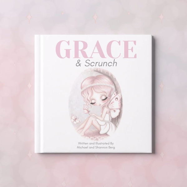 Book - Grace and Scrunch, by Isla Dream Prints. Australian Art Prints. Green Door Decor. www.greendoordecor.com.au