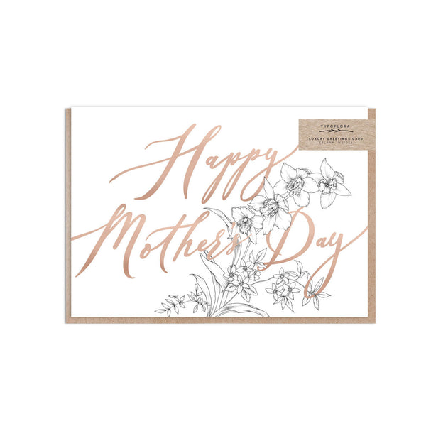 'Mono Mother's Day' Card