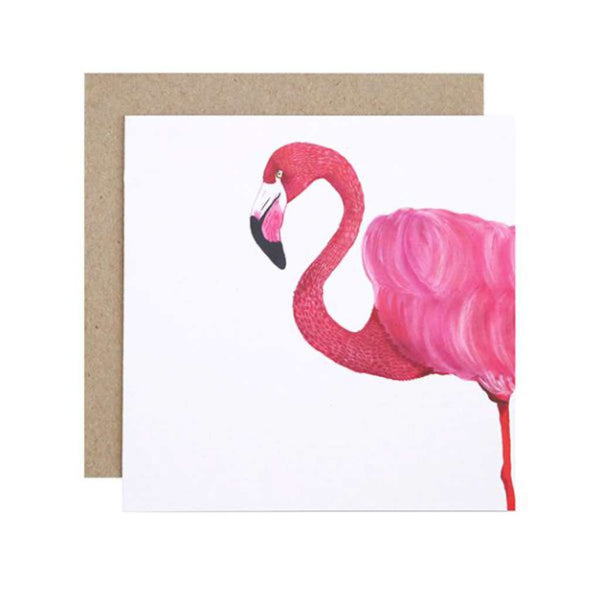 FMBD Card - Florence the Flamingo