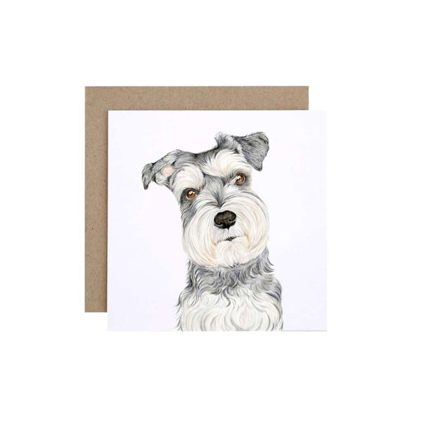FMBD Card - Chloe the Schnauzer