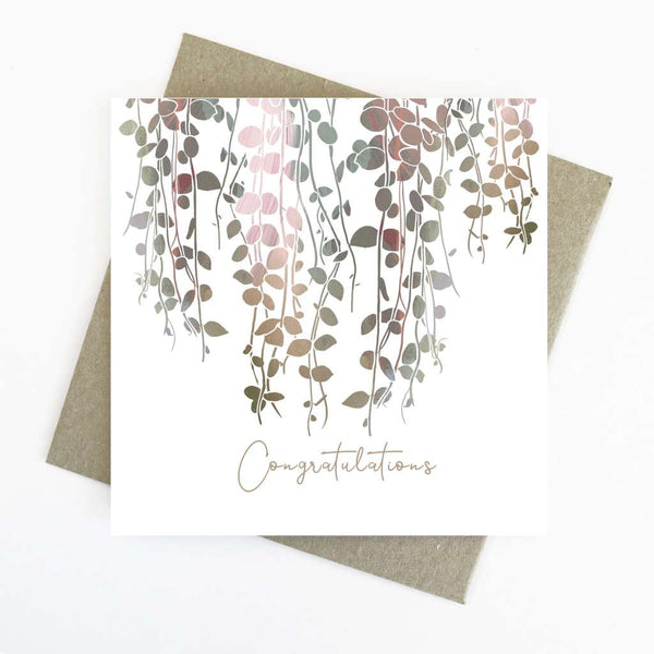 Cassie Zaccardo Wildflower Greeting Card - Congratulations