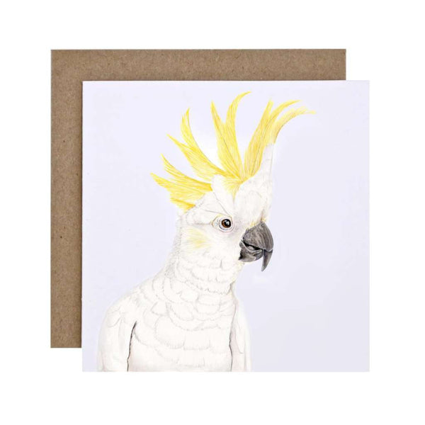 FMBD Card - Connie the Cockatoo