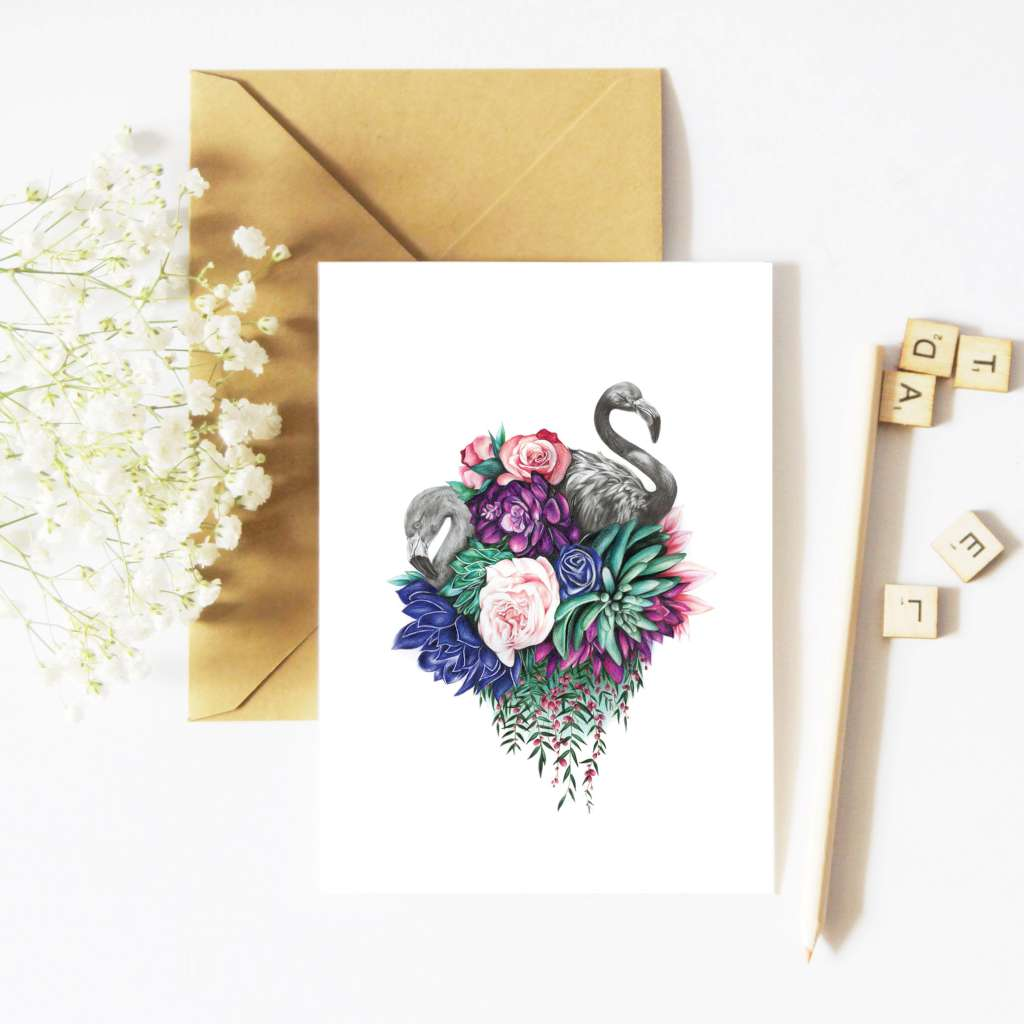 McMurtrie Illustrations Card - Fauna and Flora