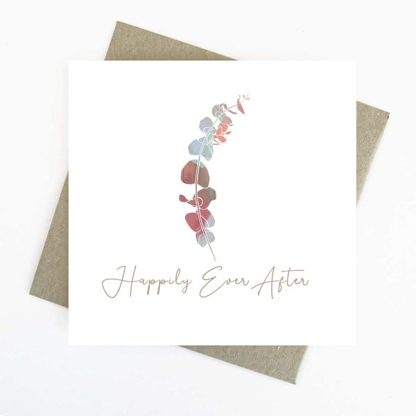 Cassie Zaccardo Wildflower Greeting Card - Happily Ever After