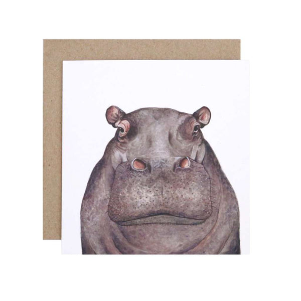 FMBD Card - Hugo the Hippo