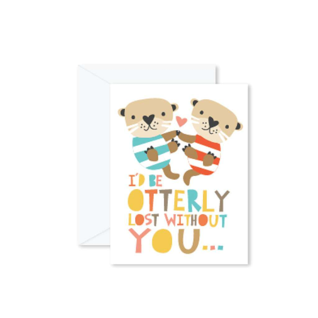HMM Card - I'd Be Otterly Lost Without You