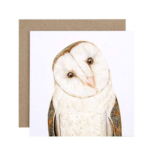 FMBD Card - Luna the Barn Owl