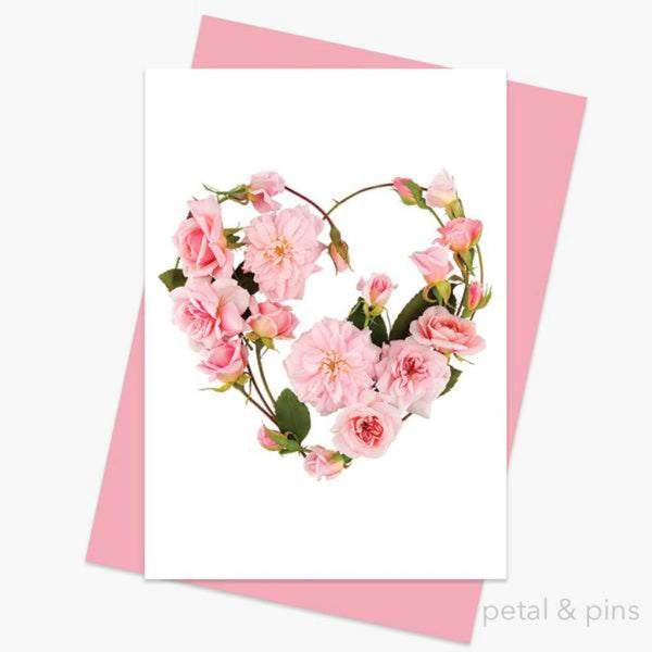 Petal & Pins Card - My Heart's Abloom