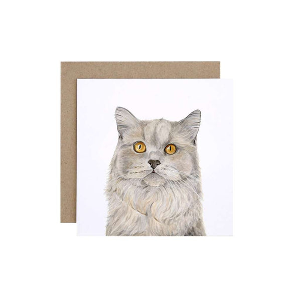 FMBD Card - Otto the British Short Hair Cat