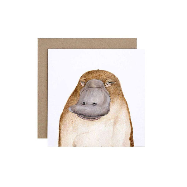 FMBD Card - Poppy the Platypus