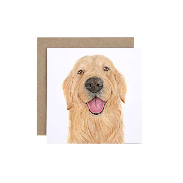 FMBD Card - Sid the Golden Retriever