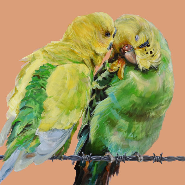 'Country Love' print by Bexart. Australian Art Prints. Green Door Decor. www.greendoordecor.com.au