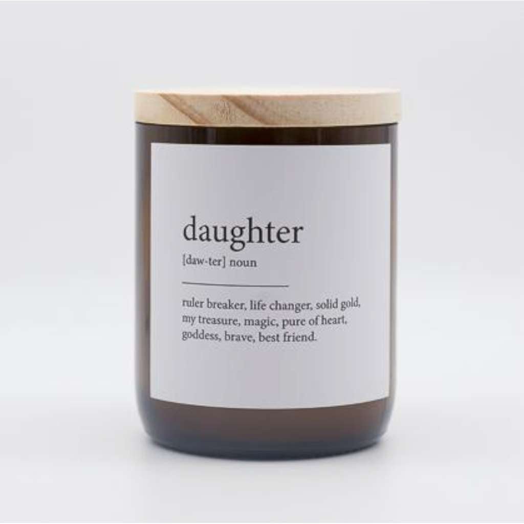 Daughter Dictionary Meaning Candle. Australian Art Prints and Homewares. Green Door Decor. www.greendoordecor.com.au