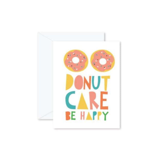 HMM Card - Donut Care Be Happy