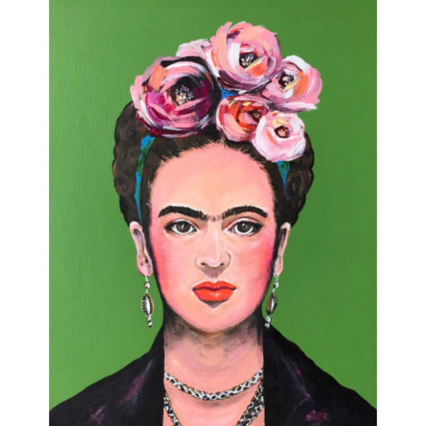 Frida, Vixen Designs. Australian Art Prints. Green Door Decor.  www.greendoordecor.com.au