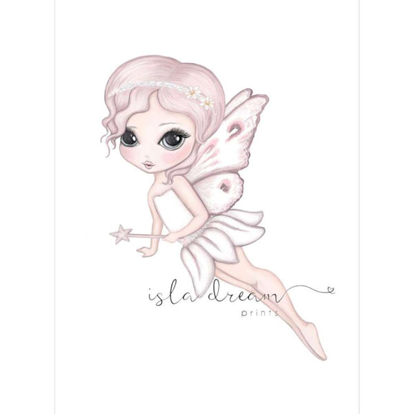 'Grace the Butterfly Fairy - flying' Print