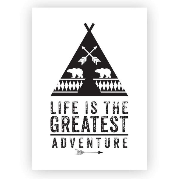 'The Greatest Adventure' Print