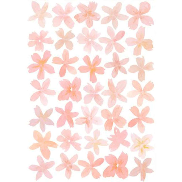 Wall Stickers - Happy Flowers Pink, by Sailah Lane. Australian Art Prints and Homewares. Green Door Decor. www.greendoordecor.com.au
