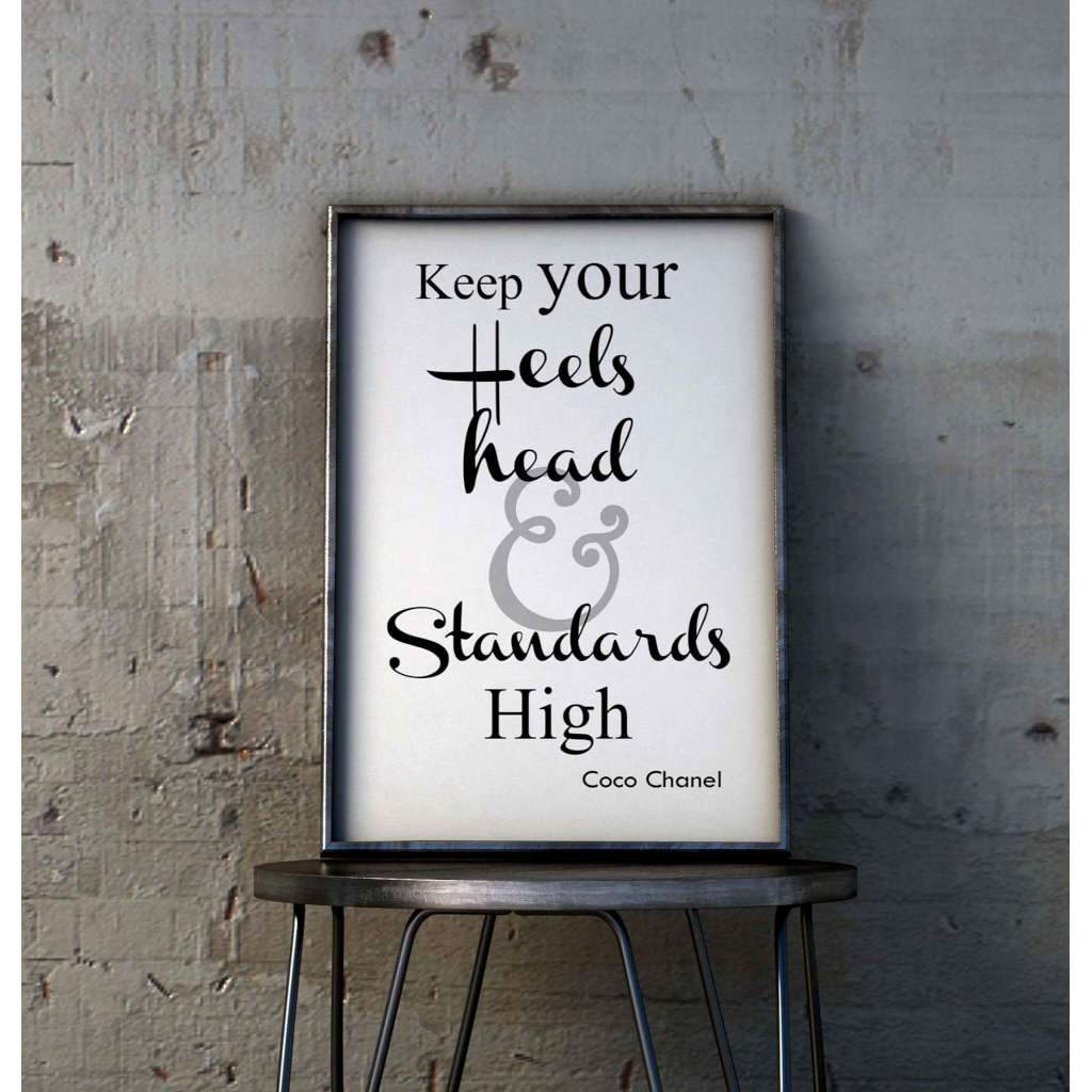 Heels Head & Standards High 2, by Skart & Savvy Designs. Australian Art Prints. Green Door Decor.  www.greendoordecor.com.au