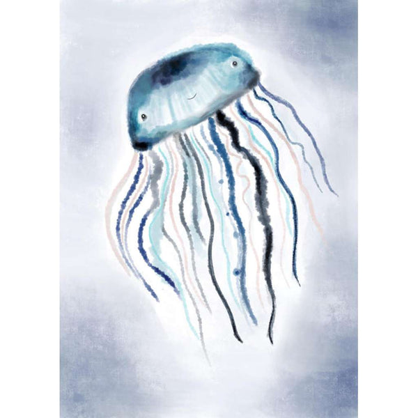 Under The Sea Collection - Jack the Jellyfish | Green Door Decor | Art Prints | greendoordecor.com.au