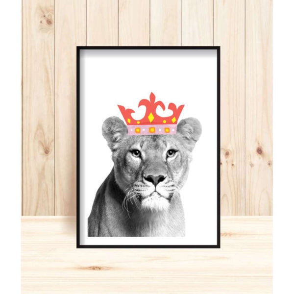 'Jungle Queen' Print