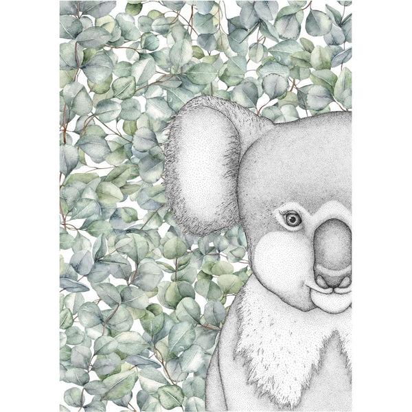 Kenneth the Koala with Eucalyptus Leaves (Limited Edition)