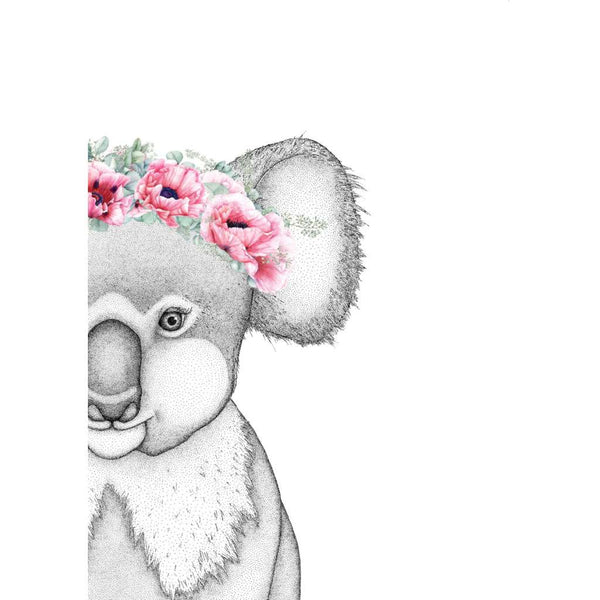 Kerry the Koala with Poppy Crown (Limited Edition)