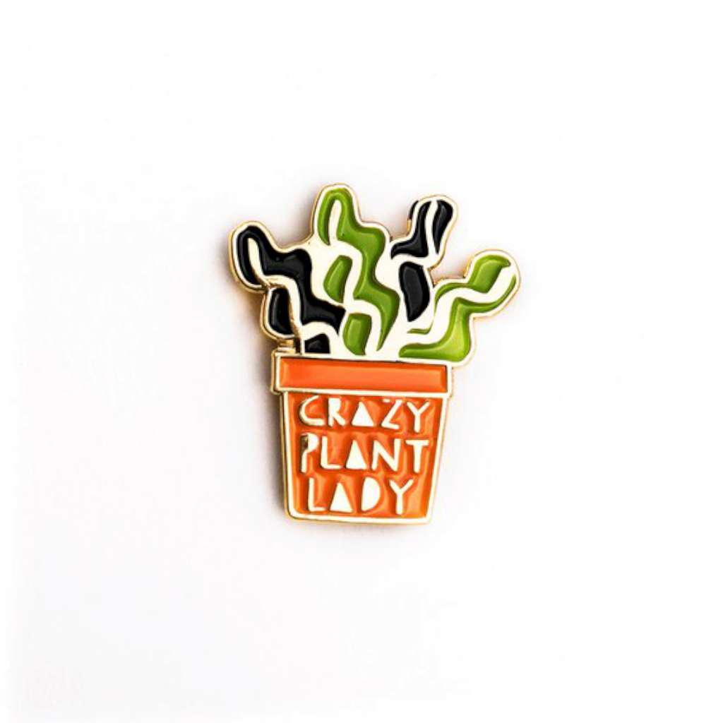 HMM Lapel Pin - Crazy Plant Lady
