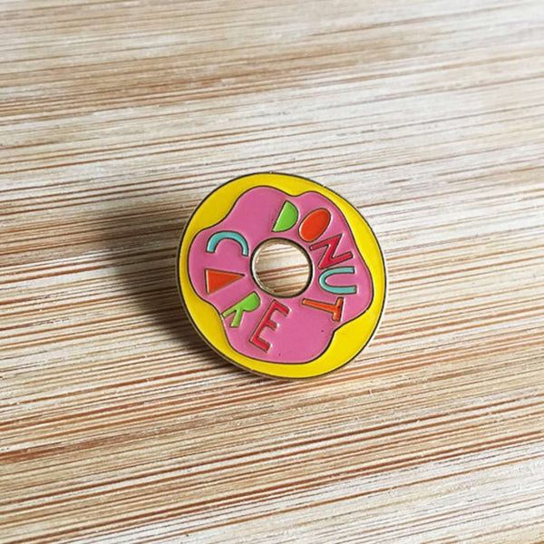 HMM Lapel Pin - Donut Care