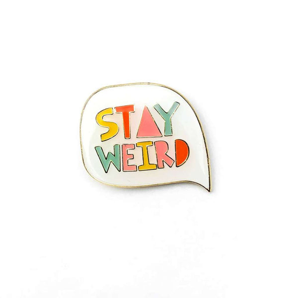 HMM Lapel Pin - Stay Weird