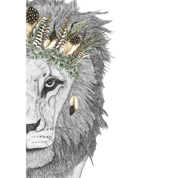 Leo the Lion with Luxe Feather Crown (Limited Edition)
