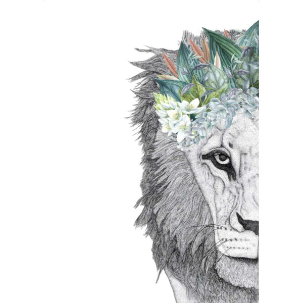Leo the Lion with Foliage Crown (Limited Edition)