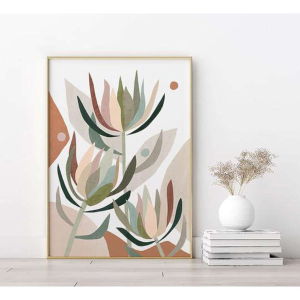 Leucodendron Abstract print, by Lamai Anne. Australian Art Prints. Green Door Decor. www.greendoordecor.com.au