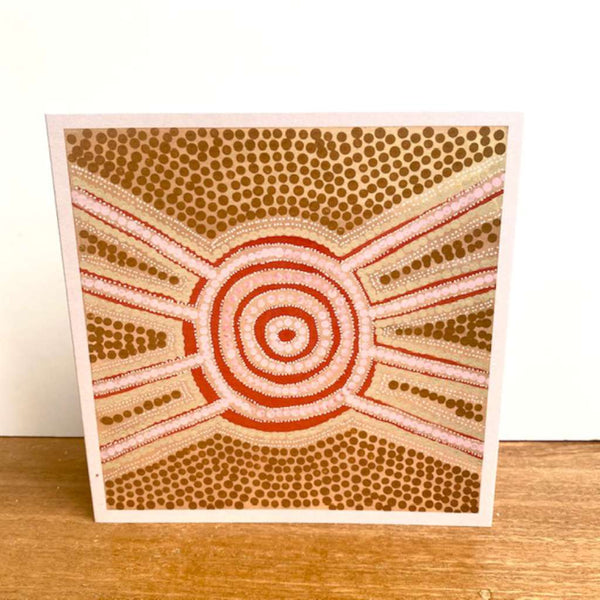 Meeting Place Card by Emma Stenhouse. Australian Art Prints and Homewares. Green Door Decor. www.greendoordecor.com.au