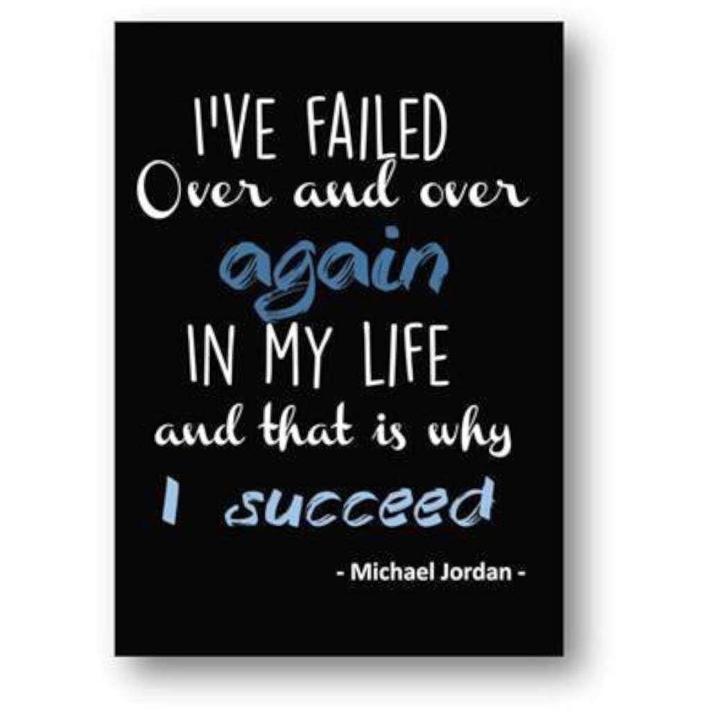 I Succeed - Michael Jordan