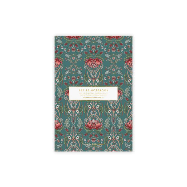 Waratah Petite Notebook by Bespoke Letterpress. Australian Art Prints and Homewares. Green Door Decor. www.greendoordecor.com.au