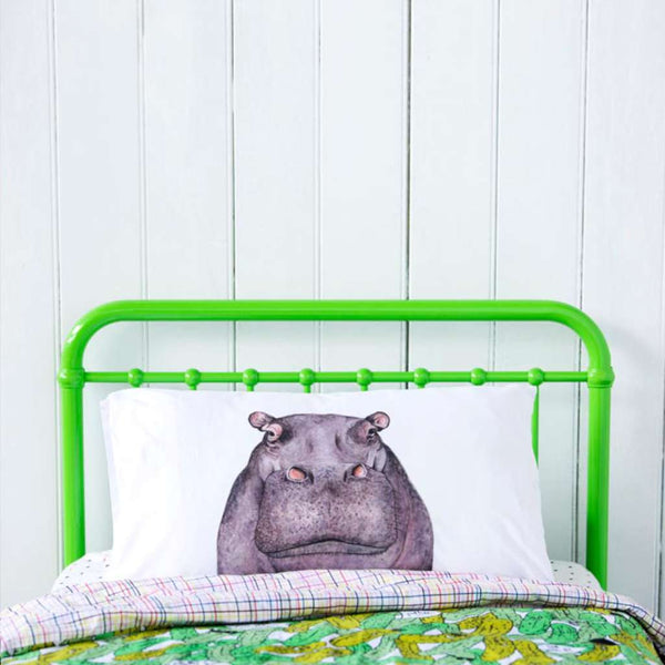 Pillowcase - Hugo the Hippo