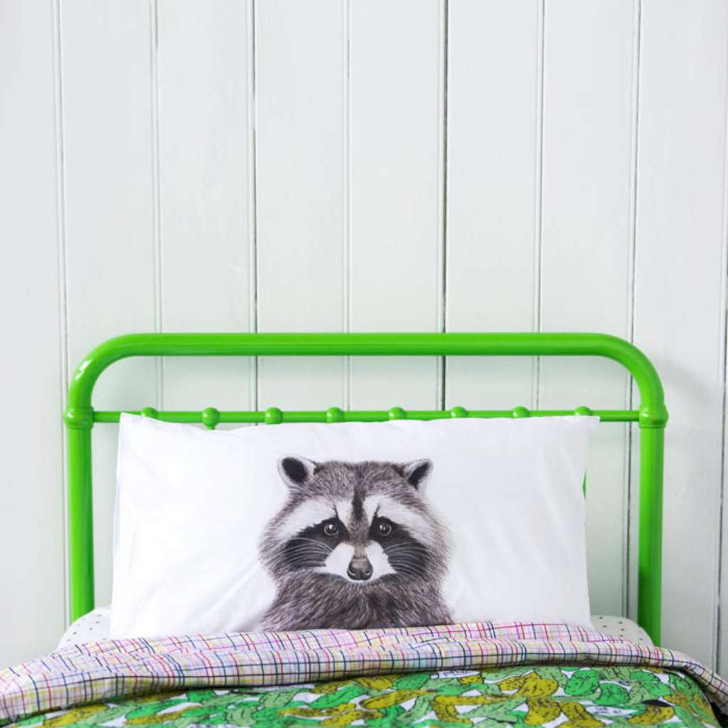 Pillowcase - Rocco the Raccoon