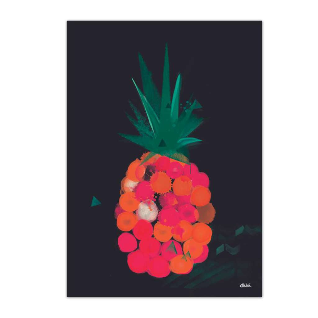 Pineapple Pop (Black)