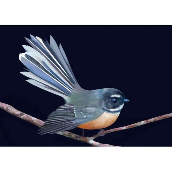 Piwakawaka NZ Fantail (Limited Edition)