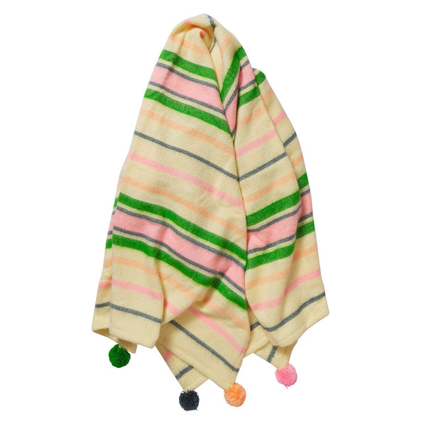 Prudence Wool Blanket by Sage and Clare. Australian Art Prints and Homewares. Green Door Decor. www.greendoordecor.com.au