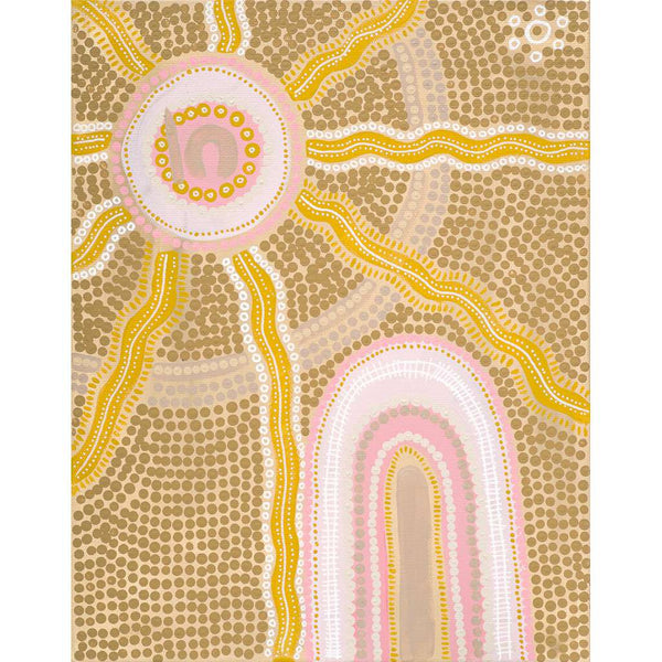 Rise and Shine Limited Edition Print by Emma Stenhouse. Australian Art Prints and Homewares. Green Door Decor. www.greendoordecor.com.au